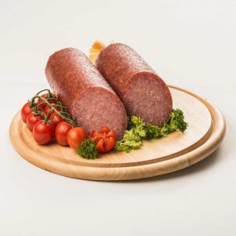 Putensalami mit Rindfleisch